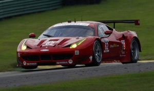 Pierre Kaffer raced to the pole in the GT Le Mans class for the TUDOR United SportsCar Championship event at Virginia Int'l Raceway. (Phillip Abbott/LAT Photo)