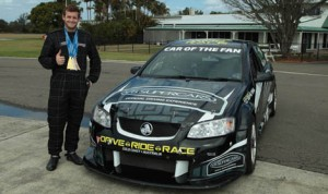 Tyler Clary, a U.S. Olympic Gold Medalist, is hoping to break into the world of V8 Supercar racing in Australia.