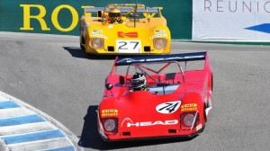 A slew of historical cars highlighted the Rolex Monterey Motorsports Reunion at Mazda Raceway Laguna Seca.