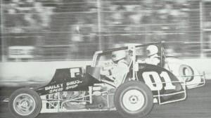 Leroy Van Conett races at Calistoga Speedway in 1978. (CS photo)
