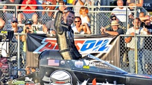 Dom Lagana looks for more history-making success at U.S. 131 Motorsports Park. (IHRA photo)