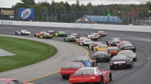 The Bond ACT Invitational at NHMS has become known for its side-by-side action all the way around the track including three and four-wide. (Eric LaFleche photo)
