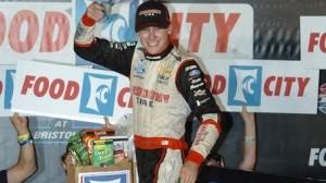 Ryan Blaney wins the Food City 300 at Bristol Motor Speedway in Bristol, Tenn. (Drew Hierwater photo)