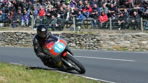 The 350 cc portion of the Isle of Man Classic TT saw records shatter. (IOM photo)