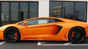 This 2014 Lamborghini Aventador is one of more than 20 exotic vehicles that will be on display in the Nationwide Insurance Pavilion during the Sept. 18-21 AutoFair at Charlotte Motor Speedway. (Lamborghini Carolinas photo)
