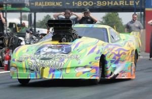 Frankie Taylor is one PDRA racer seeking success at The Rock. (PDRA photo)