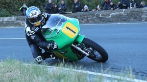John McGuinness was a force to be reckoned with in Isle of Man Classic TT qualifying. (IOM photo)