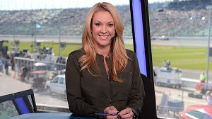 Nicole Briscoe will stay with ESPN after NASCAR Countdown ends in November. (ESPN photo)