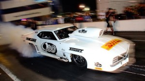 Khalid Mohammed was fastest in PDRA Pro Nitrous qualifying. (PDRA photo)