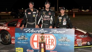 Nathan Haseleu made it three wins in a row on Friday. (ARCA photo)