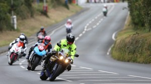 Manx GP riders experienced windy conditions during practice. (IOM photo)