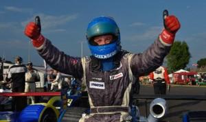 Mikhail Goikhberg captured Saturday's Cooper Tires Prototype Lites event at Virginia Int'l Raceway to lock up the series championship. (IMSA Photo)