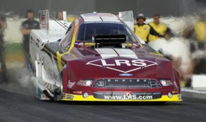Tim Wilkerson believes he has his NHRA Funny Car team heading in the right direction as the series travels to Gateway Motorsports Park this weekend. (NHRA Photo)