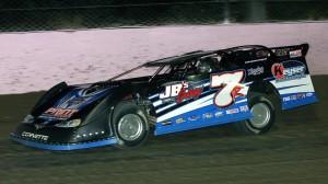 Kent Robinson scored the feature win on Sunday at Eldora Speedway. (Jim Denhamer photo)