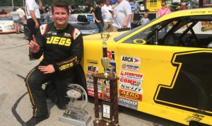 Cody Coughlin earned his first ARCA/CRA Super Series triumph Monday at Winchester (Ind.) Speedway. (Speed51 Photo)