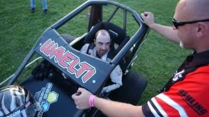 Brandon Waelti won six features at Angell Park Speedway. (Roger Hamilton photo)