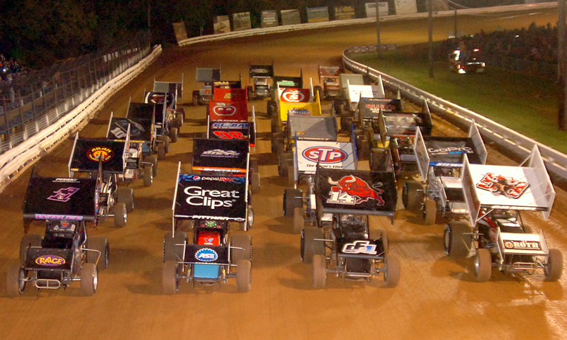 World Of Outlaws Four Wide Williams Grove Speedway Speed