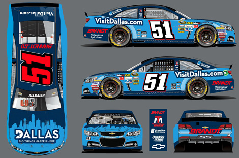 Justin allgaier gains sponsor for texas speed sport for Texas motor speedway schedule this weekend