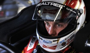 Kevin Harvick qualified fifth for Sunday's Ford 400. He was the fastest of the four championship contenders in NASCAR Sprint Cup Series qualifying on Friday at Homestead-Miami Speedway. (HHP/Rusty Jarrett Photo)