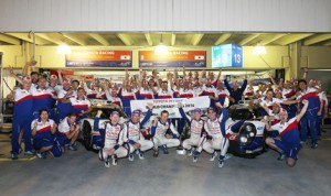 Toyota sealed the FIA World Endurance Championship on Sunday in Sao Paulo, Brazil. (Toyota Photo)