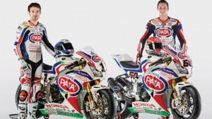 Pata Honda revealed its bikes and riders on Saturday. (Honda Pro Racing photo)
