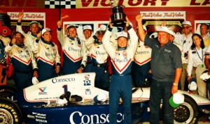 A.J. Foyt's driver Billy Boat was originally declared the winner of the True Value 500k at Texas Motor Speedway in 1997, but later the victory was taken away by officials following a protest by Arie Luyendyk. Foyt never returned the trophy and still has it to this day.