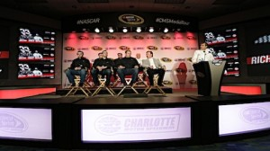 Richard Childress Racing's team convenes during the Charlotte Motor Speedway Media Tour presented by Technocom on Thursday in Charlotte, N.C. (HHP/Andrew Coppley photo)