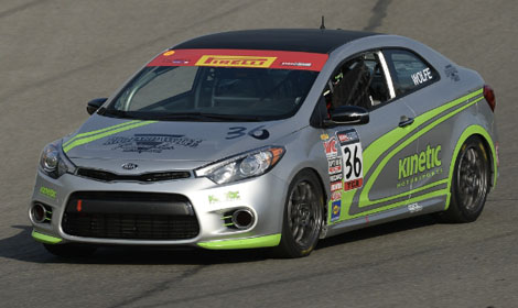 Kinetic kia expand racing program speed sport for Kia motors irvine ca