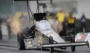 Tony Schumacher topped the speed charts during two rounds of Top Fuel qualifying for the AMALIE Motor Oil NHRA Gatornationals. (NHRA Photo)