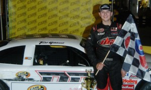 Todd Gilliland will try to become the youngest Snowball Derby winner in history this weekend. (Drew Hierwarter Photo)