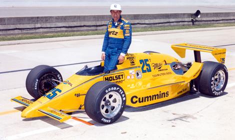 Al Unser Sr 1987 Ims Speed Sport