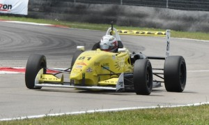 Team Pelfrey, which won the 2015 Pro Mazda Championship with driver Santiago  Urrutia, will expand into Indy Lights in 2016. (Al Steinberg photo)