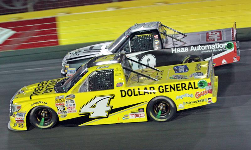 Erik jones kasey kahne charlotte nascar trucks speed sport for Jones motor company trucking