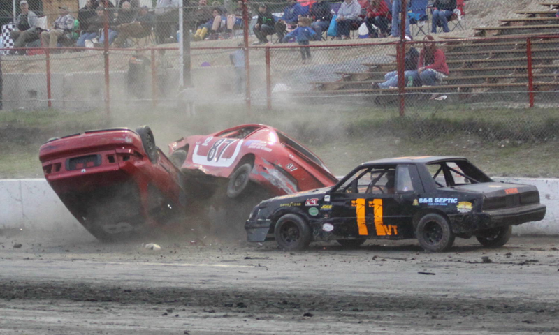 Bear Ridge Speedway Cylinder Crash Speed Sport