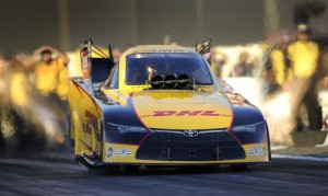 Del Worsham's consistent season has him fourth in the NHRA Funny Car standings. (NHRA Photo)