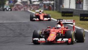 Sebastian Vettel earned his second victory of the season on Sunday. (Steve Etherington Photo)