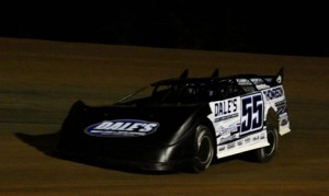 Montana Dudley scored his first NeSmith Chevrolet Dirt Late Model Series victory on Saturday night at East Alabama Motor Speedway. (Beth Davis Ferguson Photo)