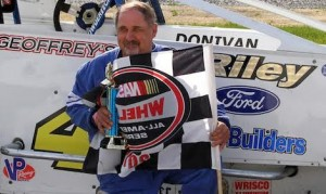 Leon Gonyo, 63, died after the Devil's Bowl Speedway season finale on Saturday. (DBS photo)
