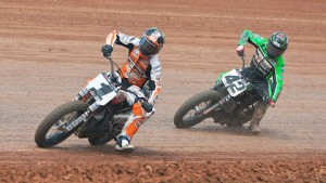The stars of AMA Pro Flat Track descend on Delaware this weekend. (AMA Pro Racing/Dave Hoenig photo)