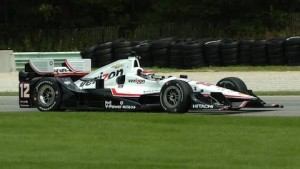 Will Power was one of the IndyCar drivers to test at Road America. (Nick Dettman photo)