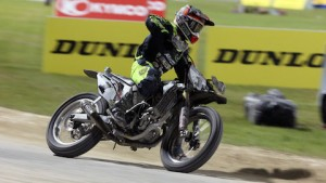 The AMA Pro Flat Track season concludes this weekend in Las Vegas. (Brian J. Nelson/AMA Pro Racing photo)