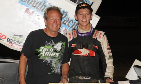 Sheldon Jac Haudenschild Wayne County All Stars Sept 6 Julia