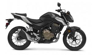 Honda unveiled the updated CB500F naked sport bike for 2016. (Honda photo)