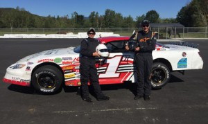 Evan Hallstrom (left) and Devin O'Connell (right) are the first members of the Hallstrom Motorsports Driver Development program. (Hallstrom Motorsports Photo)