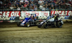 Entries poured in for the Chili Bowl, requiring four days of qualifying. (Buck Monson photo)
