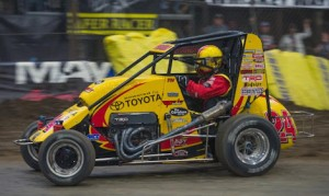 Tracy Hines is set to compete in the 2016 Chili Bowl. (Dave Hill photo)