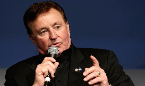 Richard Childress, a six-time NASCAR Sprint Cup champion team owner, was another inductee. (NASCAR photo)