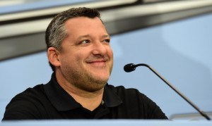 Three-time NASCAR Sprint Cup champion Tony Stewart has Ford ties from more than 15 years ago. (NASCAR photo)