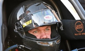 Troy Coughlin Jr. earned his Top Fuel license on Thursday. (JEGS photo)