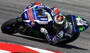 Jorge Lorenzo led the final day of testing at the Sepang Int'l Circuit. (Movistar Yamaha photo)